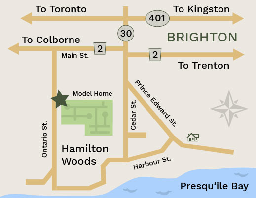 Map - Tobey Developments